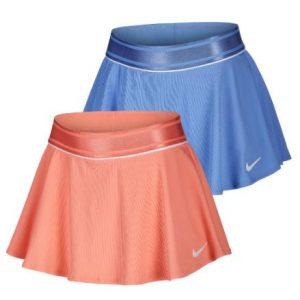 Nike Girls Court Flouncy Tennis Skort royal sunblush