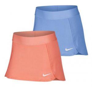 Nike Girls Court Straight Tennis Skort royal sunblush
