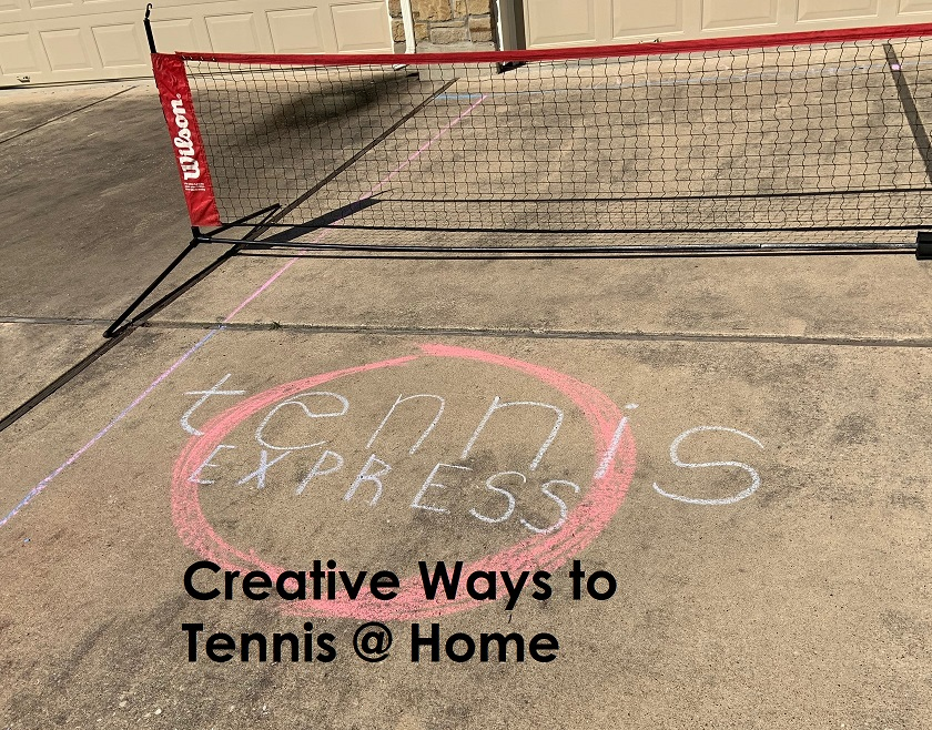Creative Ways to Tennis at Home