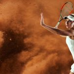 Tennis in the wind can be challenging