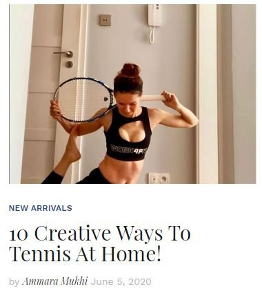 10 Creative Ways to Play Tennis at Home blog