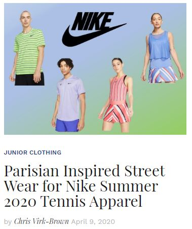 Parisian Inspired Streetwear Nike Summer Apparel blog
