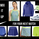 Mix the Nike Women's Printed Tennis Tank with an array of bottoms for your next match!