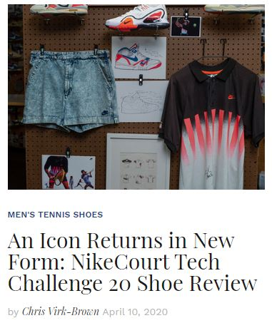 Nike Tech Challenge 20 an Icon Returns blog