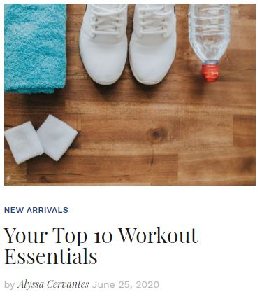 Top 10 Workout Gear Essentials blog