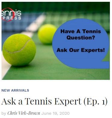 Ask a Tennis Expert Blog