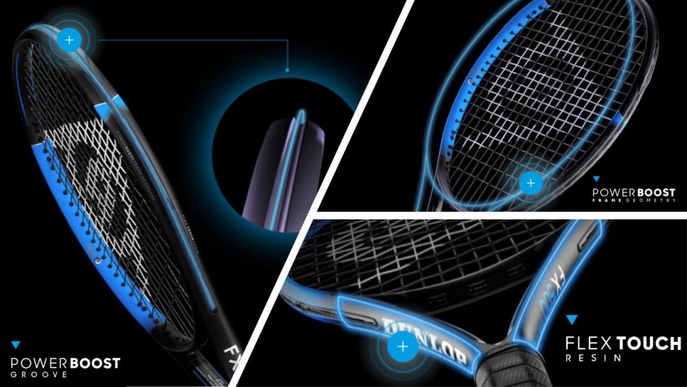 Dunlop FX Tennis Racquet Technologies