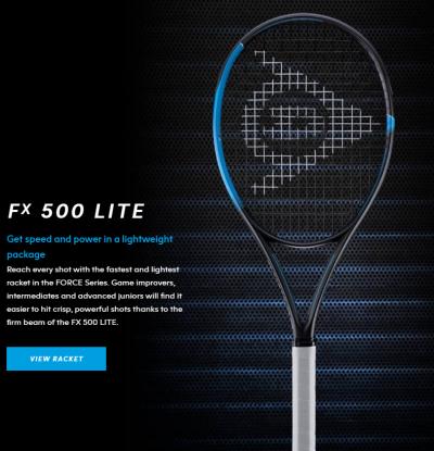 Dunlop FX 500 Lite Tennis Racquet