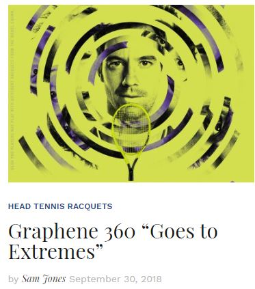 Head Graphene 360 Extreme Tennis Racquets blog