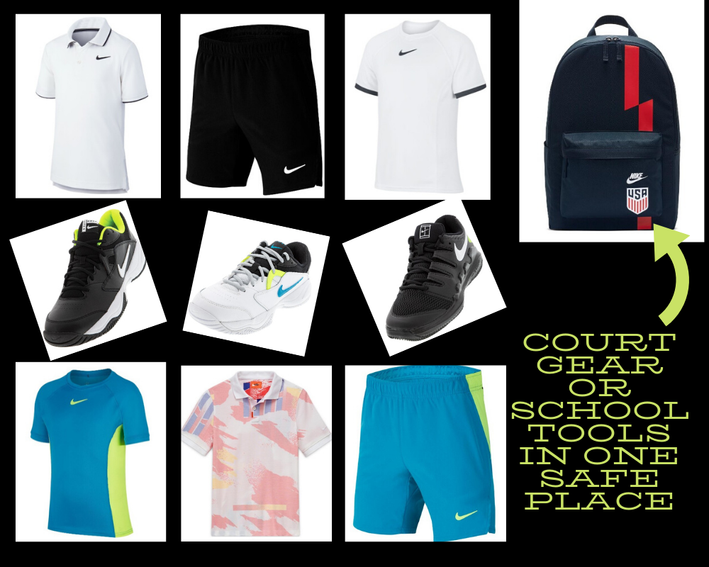 Kids's Tennis Clothing Collections Do Double Duty on the Court and Back to School