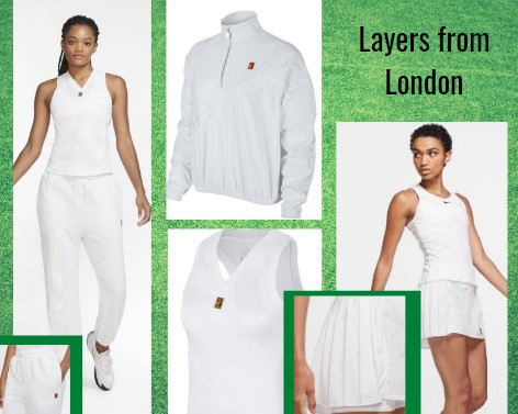 Team Nike Wimbledon Tennis Whites
