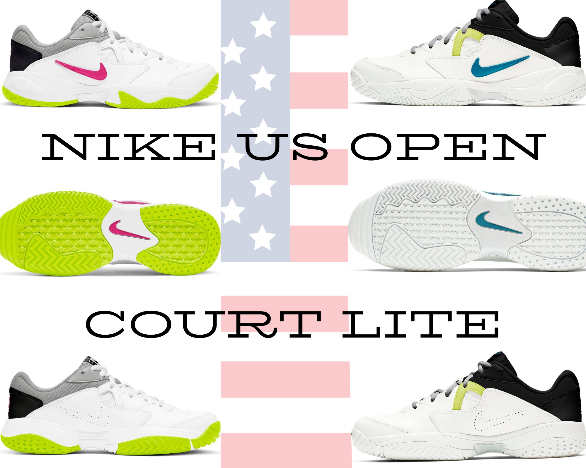 Nike Tennis Shoe Collection for 2020 US Open