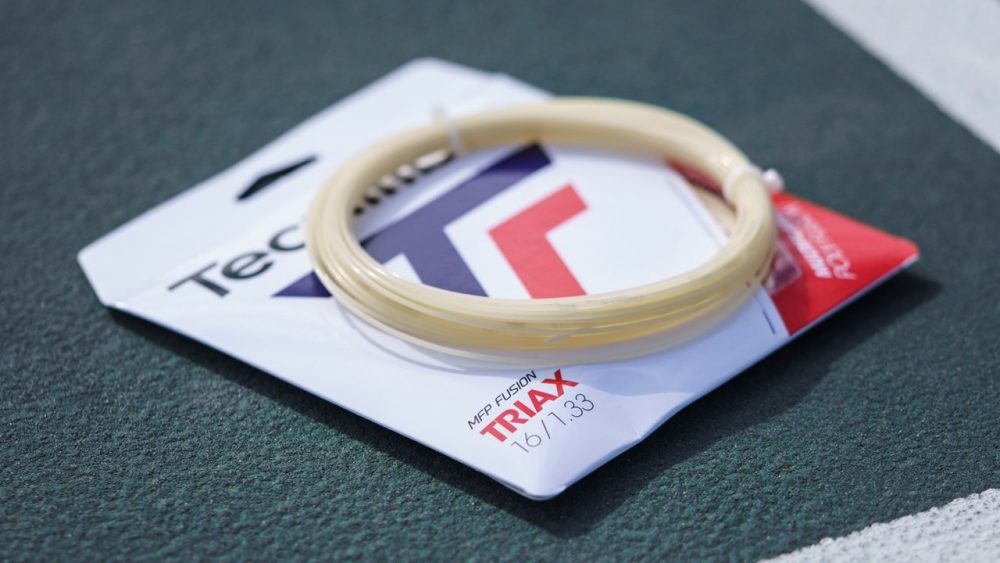 Tecnifibre Triax Bridges the Gap between Multi and Poly Tennis Strings