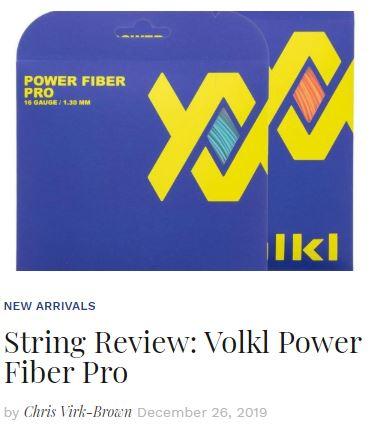 Volkl Power Fiber Pro Tennis String Review blog