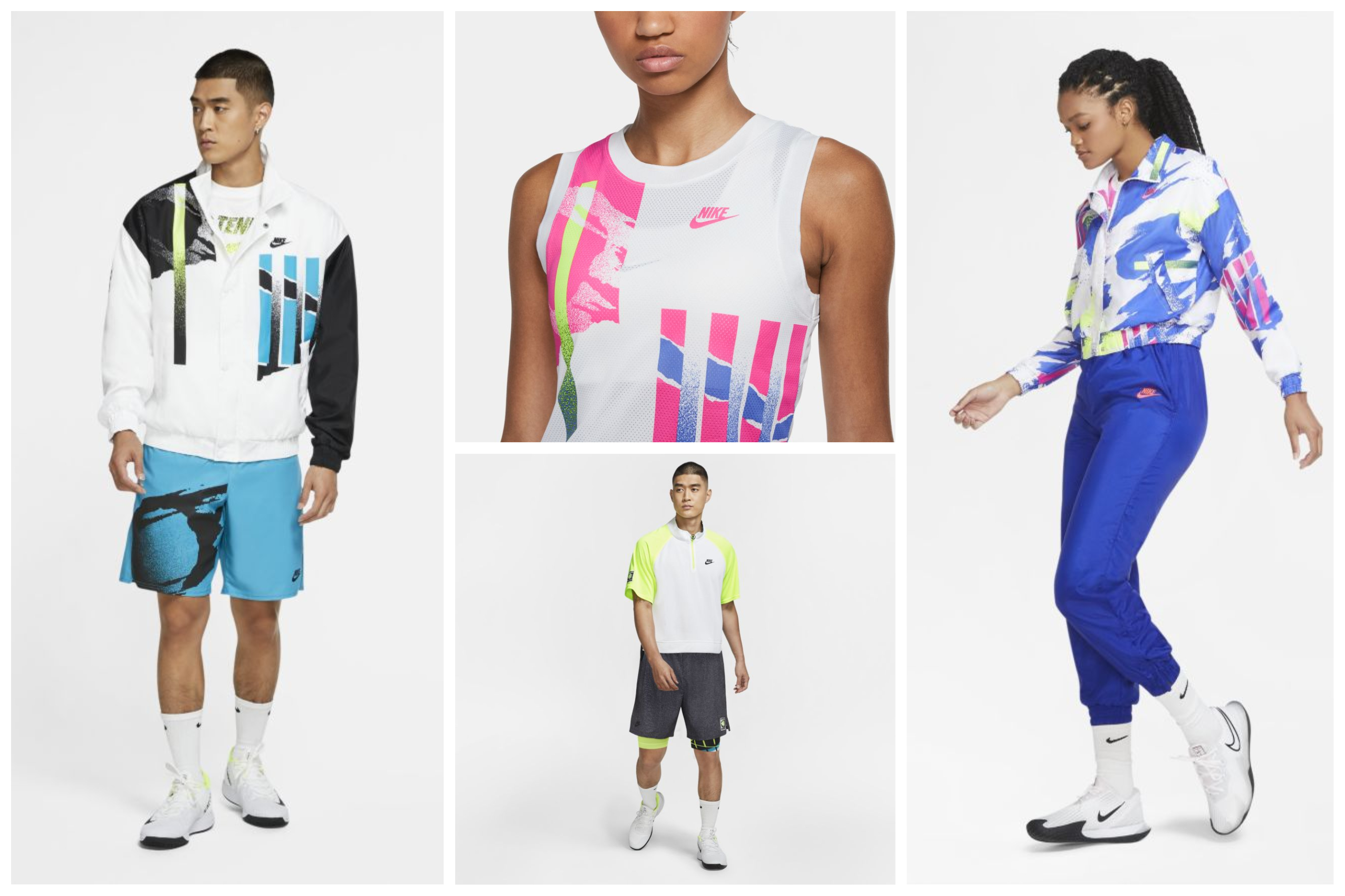 Retro Vibes and Bright Colors- The Nike New York Slam Apparel Collection is Here!