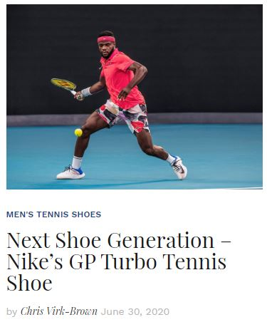 Nike GP Turbo Tennis Shoe Preview blog