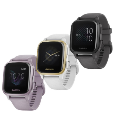 New Garmin Watches Venu Sq Fitness Watch