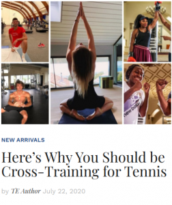 Here's Why You Should be Cross-Training for Tennis
