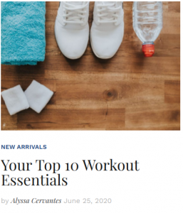 Your Top 10 Workout Essentials