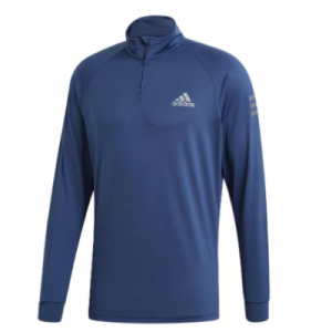 New Tennis Jackets Adidas Men's Club Midlayer Tennis Top Tech Indigo