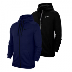 Nike Men's Dri-FIT Full-Zip Training Hoodie