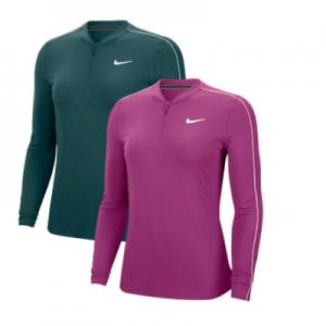 New Women's Tennis Jackets Nike Women's Court Dry Long Sleeve Half Zip Tennis Top