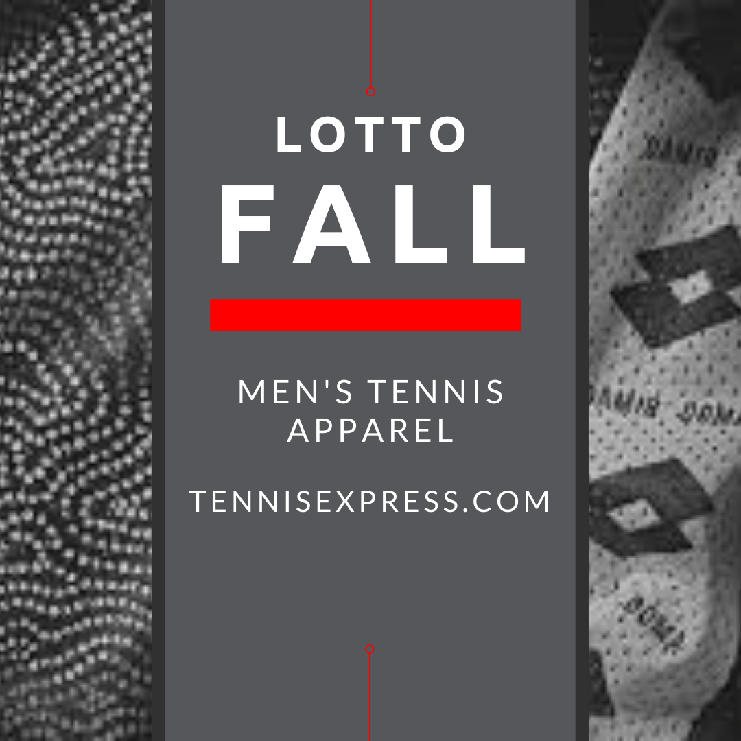 Hit the Jackpot in Men's Lotto Tennis Fall Apparel 2020