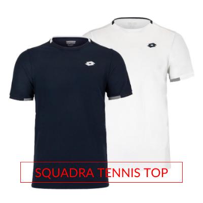 Men's Lotto Tennis Fall Apparel Squadra Tennis Top