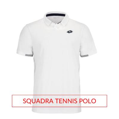 Men's Lotto Tennis Fall Apparel Squadra Tennis Polo