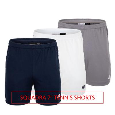 Men's Lotto Tennis Fall Apparel Squadra Tennis Shorts