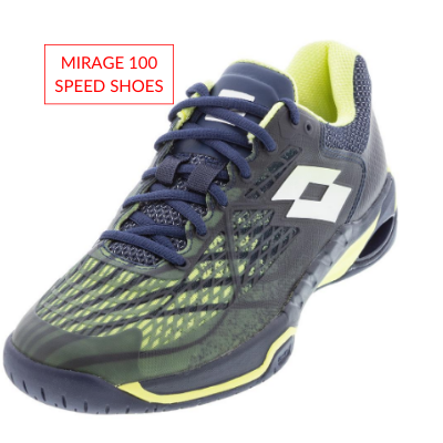 Men's Lotto Tennis Fall Apparel Mirage 100 Speed Shoes