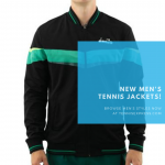 New Men's Tennis Jackets