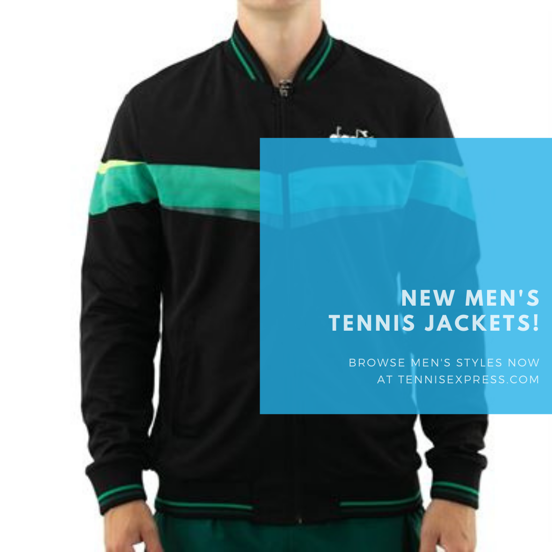 Check Out These 7 Awesome New Men's Tennis Jackets Now!
