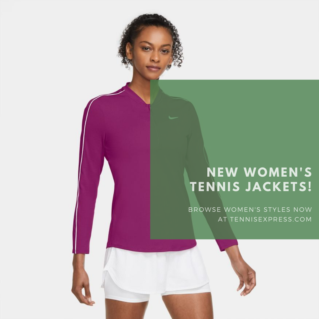 You'll LOVE These 7 Amazing New Women's Tennis Jackets