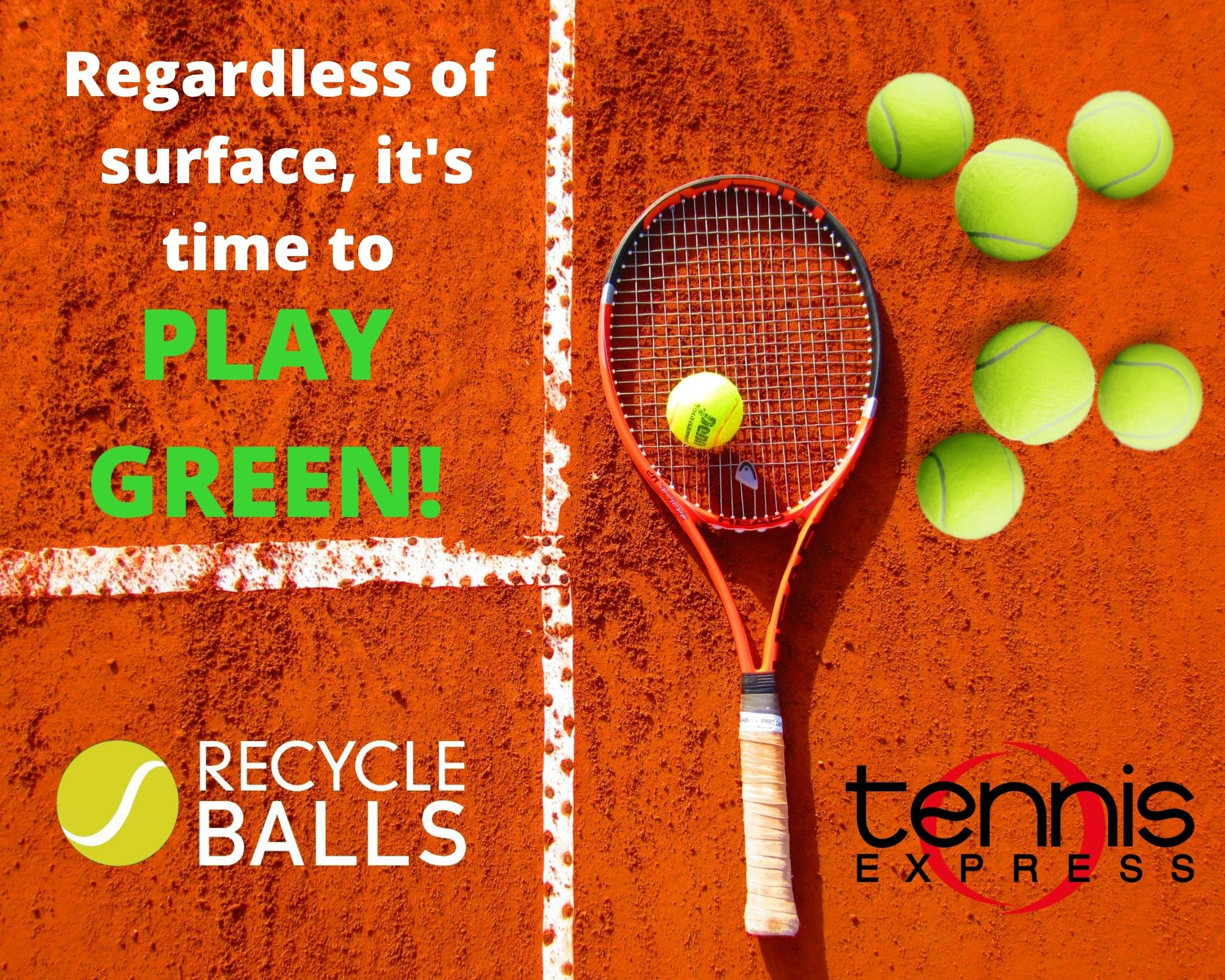 Tennis Express Partners with RecycleBalls.org and Encourages Players to Go Green