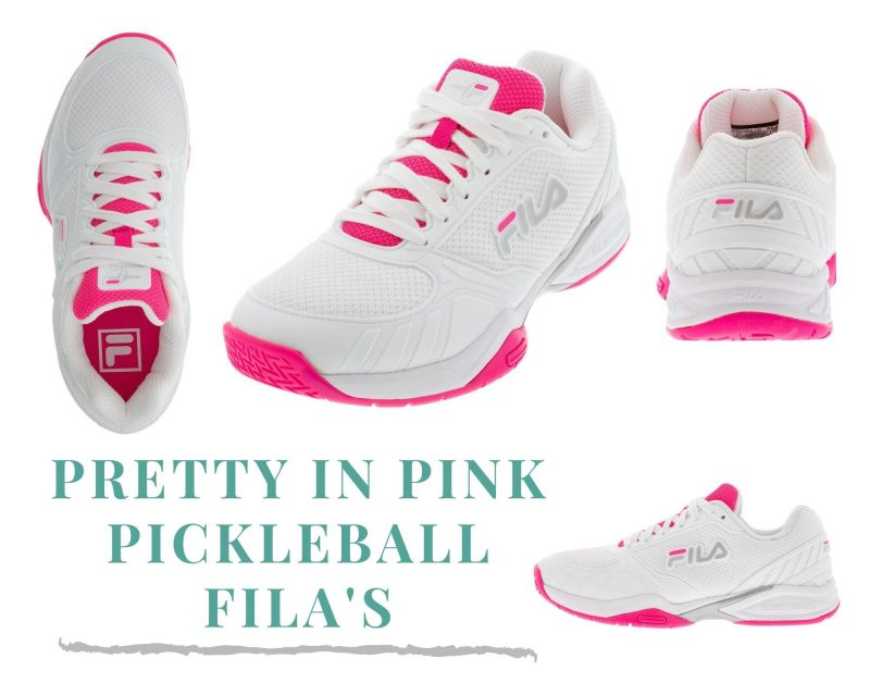 Pickleball | Fila Pink Shoes