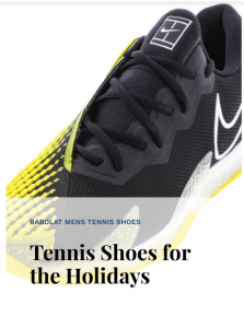 New Tennis Shoes Holidays