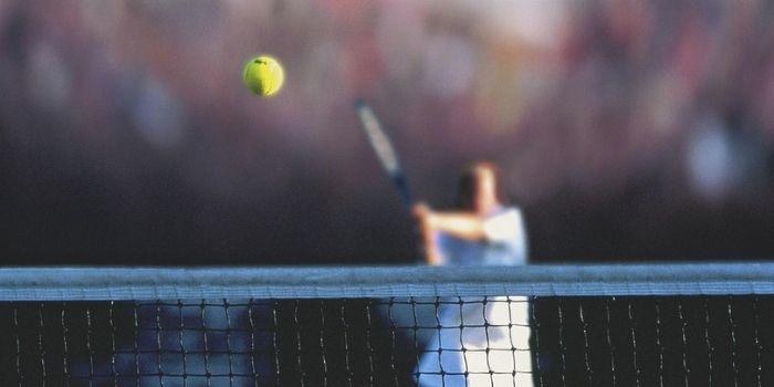 beginners at tennis