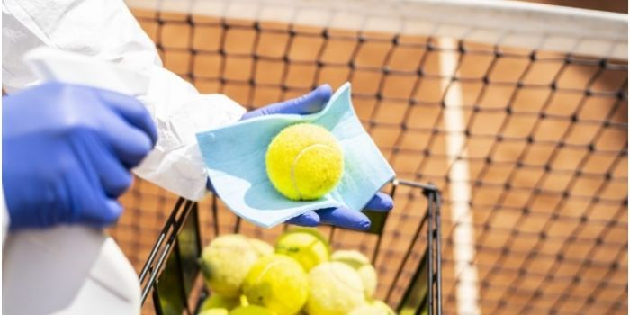 Tennis is safe from the coronavirus
