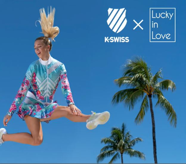 K-Swiss and Lucky In Love Create Tennis Utopia