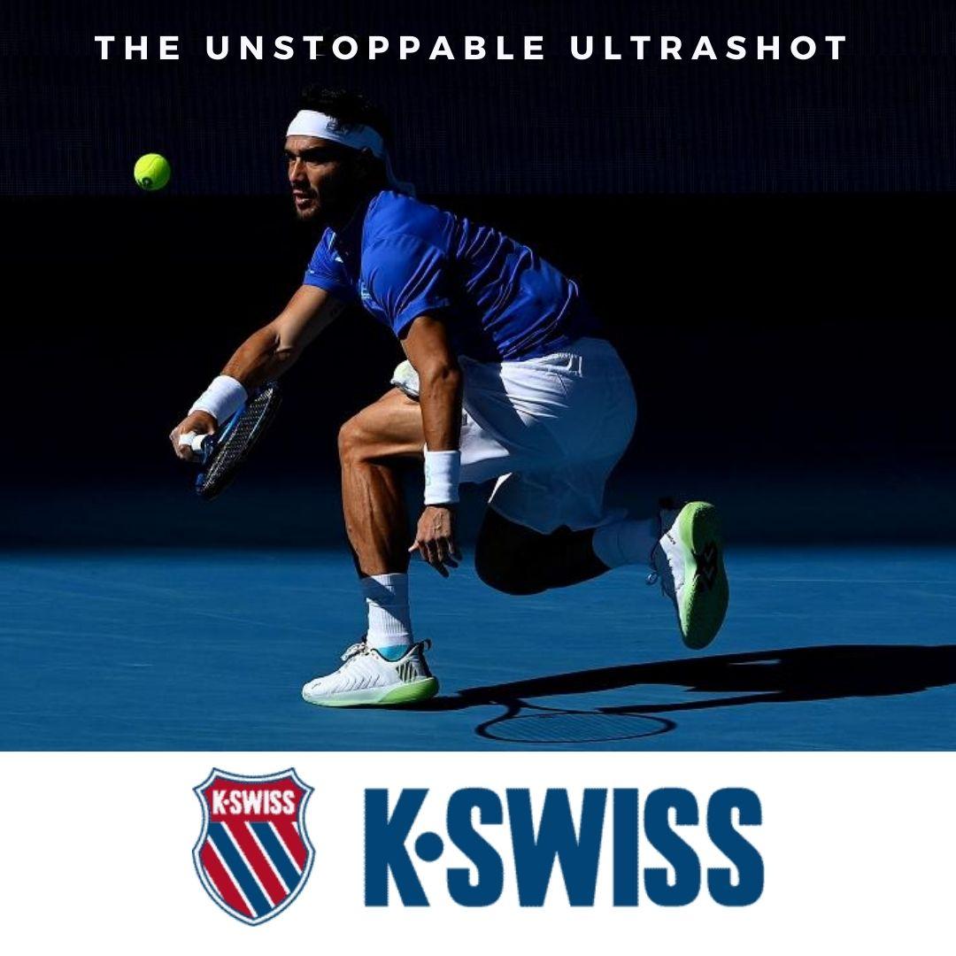 The Unstoppable Ultrashot by K-Swiss