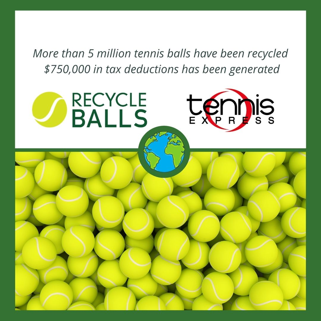 Go Green and Win $100 Tennis Express Gift Card