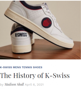 The History of K-Swiss