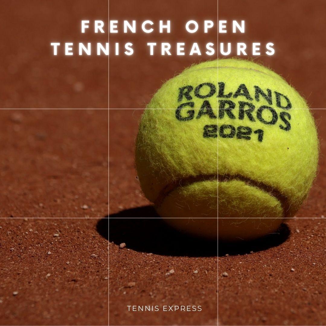 French Open Tennis Treasures ~ Pro Gear