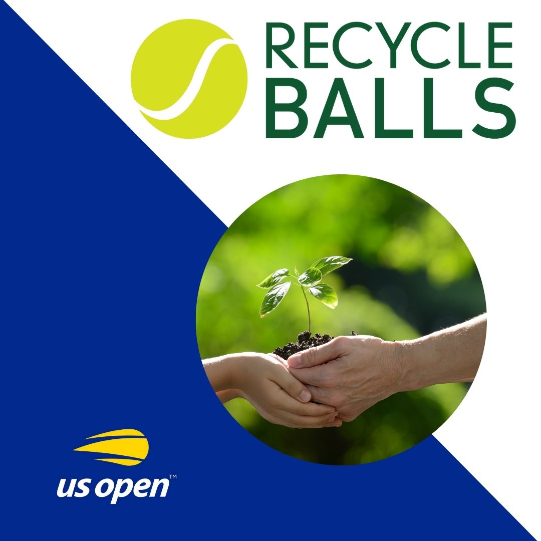 US Open Recycles Used Tennis Balls