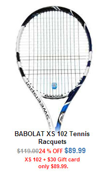 Babolat XS 102 and Gift Card Bundle