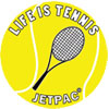 life is tennis logo