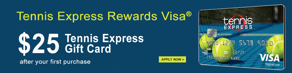 tennis express visa card