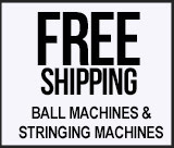 ball machine stringing machine