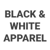 Black and White Apparel